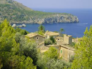 Lluch Alcari, Where Picasso Once Lived, on the Northwest Coast of the Island, Balearic Islands by Kathy Collins