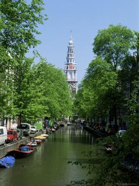 Zuiderkerk from Staal Straat, Amsterdam, Holland by Kathy Collins