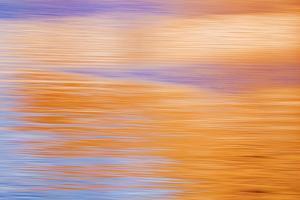 Abstract Reflection I by Kathy Mahan