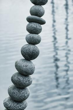 Art with Rocks II by Kathy Mahan
