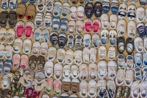 Baby Shoes III by Kathy Mahan
