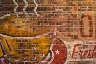Brick Painting by Kathy Mahan