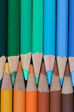 Colored Pencils III by Kathy Mahan