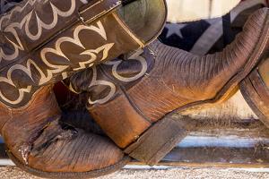 Cowboy Boots I by Kathy Mahan