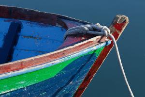 Deer Harbor Boat II by Kathy Mahan