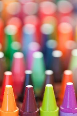 Endless Crayons I by Kathy Mahan