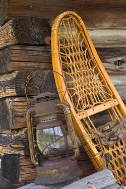 Fishing Cabin II by Kathy Mahan