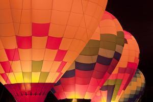Glowing Balloons I by Kathy Mahan