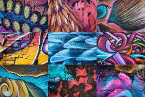 Graffiti I by Kathy Mahan