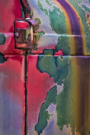 Layers of Color I by Kathy Mahan