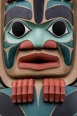 Native American Todem I by Kathy Mahan