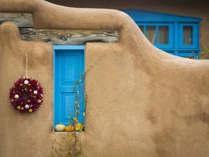 New Mexico Adobe I by Kathy Mahan