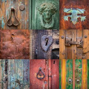 On the Door I by Kathy Mahan