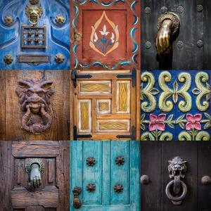 On the Door II by Kathy Mahan