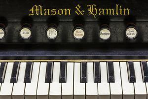 Organ Keys II by Kathy Mahan