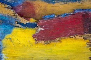 Painted Wood by Kathy Mahan