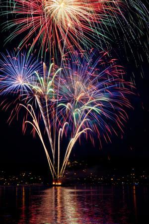 Poulsbo Fireworks I by Kathy Mahan