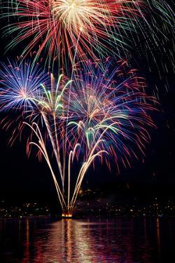 Poulsbo Fireworks I by Kathy Mahan
