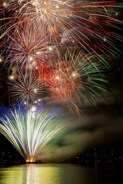 Poulsbo Fireworks III by Kathy Mahan