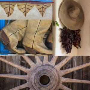 Southwest Collage II by Kathy Mahan