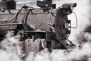 Steam Train II by Kathy Mahan