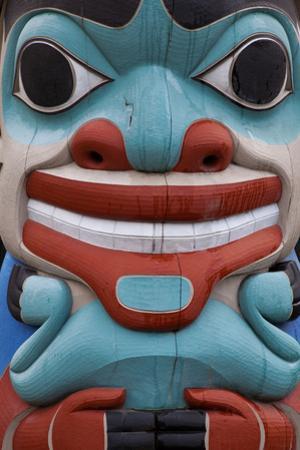 Totem Detail I by Kathy Mahan