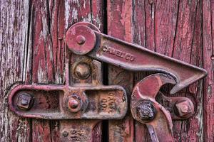 Train Lock by Kathy Mahan