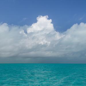 Tropical Seascape II by Kathy Mahan
