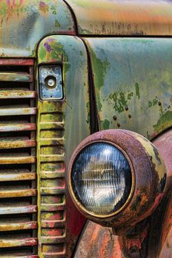 Truck Detail I by Kathy Mahan