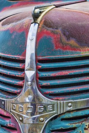 Truck Detail III by Kathy Mahan