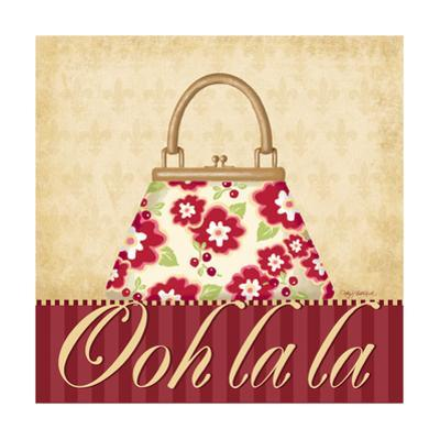 Ooh La La Purse I by Kathy Middlebrook