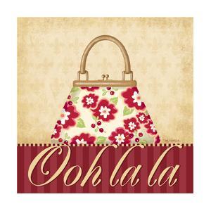 Ooh La La Purse I by Kathy Middlebrook