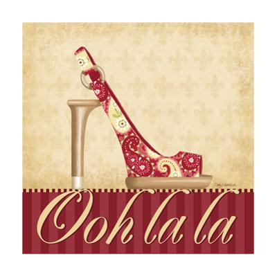 Ooh La La Shoe I by Kathy Middlebrook