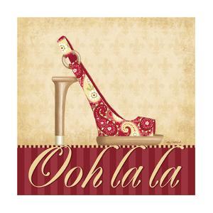 Ooh La La Shoe I by Kathy Middlebrook