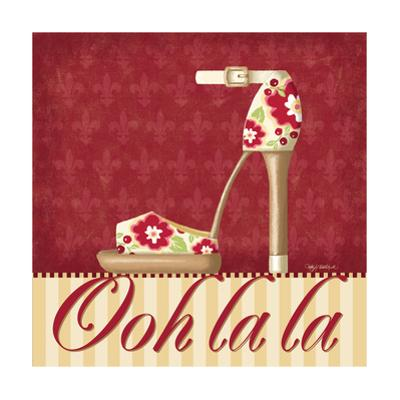 Ooh La La Shoe II by Kathy Middlebrook