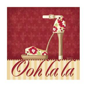 Ooh La La Shoe II by Kathy Middlebrook