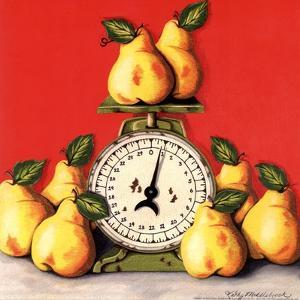 Pears on Scale by Kathy Middlebrook