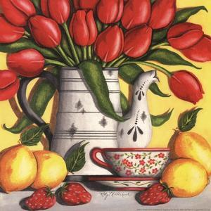 Red Tulips by Kathy Middlebrook