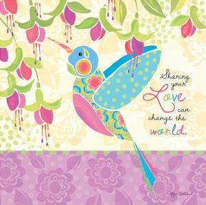 Sharing Hummingbird by Kathy Middlebrook