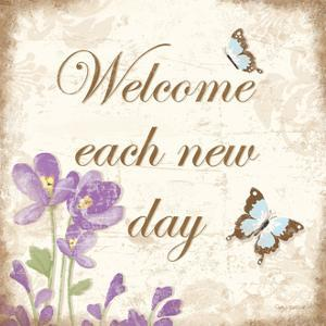 Welcome Each New Day by Kathy Middlebrook