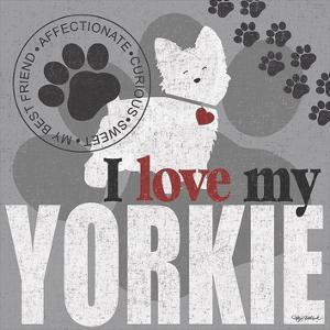 Yorkie by Kathy Middlebrook