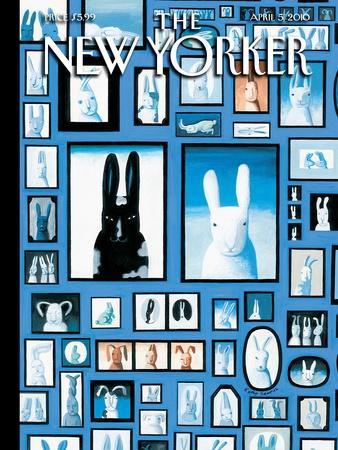 The New Yorker Cover - April 5, 2010
