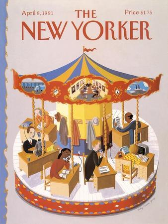 The New Yorker Cover - April 8, 1991