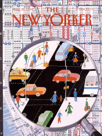 The New Yorker Cover - August 20, 1990
