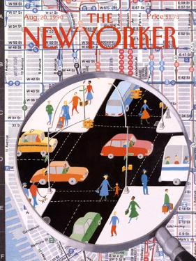 The New Yorker Cover - August 20, 1990 by Kathy Osborn