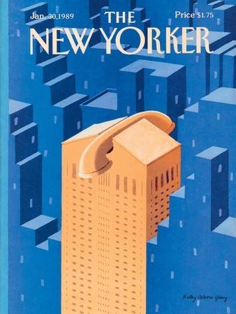 The New Yorker Cover - January 30, 1989