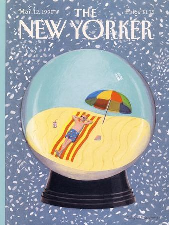 The New Yorker Cover - March 12, 1990