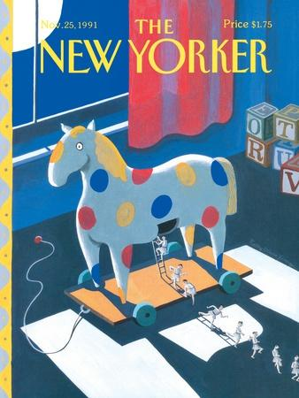 The New Yorker Cover - November 25, 1991