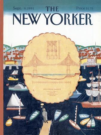 The New Yorker Cover - September 9, 1991