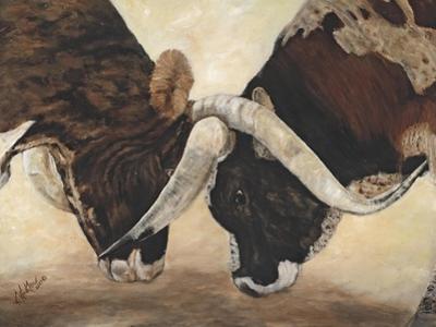 Hook 'em Horns I by Kathy Winkler